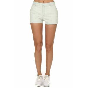 A.P.C. Women's A.P.C. Bleached Mini Shorts in Bleached Out, Size 34