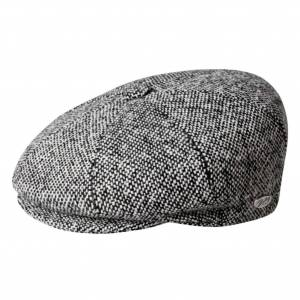Bailey of Hollywood Galvin Tweed Cap  - Black - Size: S