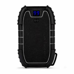 Bluemar Promotions Veho Pebble Endurance 15,000mAh Portable Water Resistant Power Bank w/ Dual USB Ports and USB-C in Black