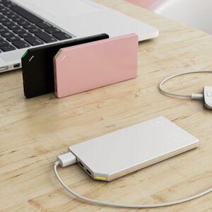 DesignNest PowerBank  Slim Aluminum 5000mAh in Pink