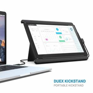 Mobile Pixels DUEX Pro Portable Kickstand for Mobile Pixels Monitors in Black, Size 8in X 10in X 0.2in