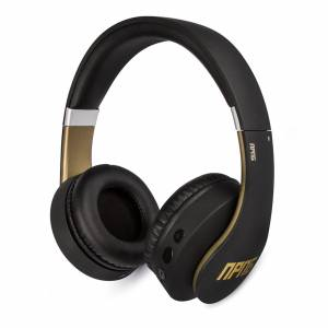 Bluemar Promotions Veho No Proof No Glory NP-2 Bluetooth Wireless/Wired Over-Ear Headphones   Stereo   Adjustable   Flex Anti-Tangle Cable   Microphon