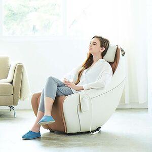 Johnson Health Tech Trading, Inc CirC-Premium SL Track Heated Massage Chair in Beige