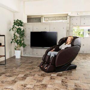 Johnson Health Tech Trading, Inc Jin 2.0-Deluxe Heated SL Track Zero Wall Massage Chair in Espresso