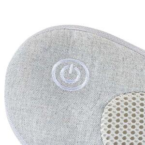 Johnson Health Tech Trading, Inc iPuffy-Premium 3D Heated Lumbar Massager in Grey