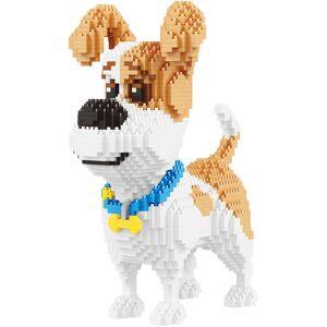 Block Center Jack Russell Dog 3D Puzzle Nano Blocks