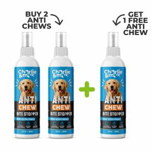 Charlie and Max® Premium Anti-Chew Spray For Dogs And Cats - Buy 2 Get 1 Free