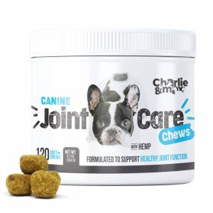 Charlie and Max® Advanced Joint Care Chews - Natural Pain and Anxiety Relief
