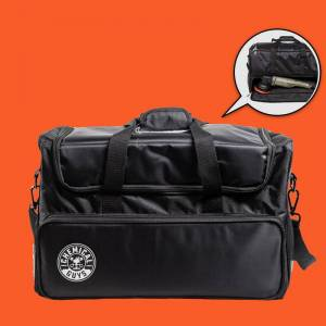 Chemical Guys Arsenal Range Trunk Organizer & Detailing Bag With Car Polisher Pocket - Weather Resistant, Extra Wide Padded Shoulder (21x12x14)   Chemical Guys