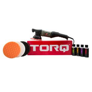 TORQ TORQ22D Random Orbital Car Polisher Kit (9 Items)   Car Detailing   Vehicle Cleaning Kit   Chemical Guys
