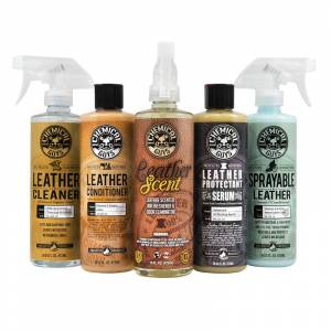 Chemical Guys Leather Lovers Kit (5 Items)   Car Detailing   Polish, Protect, Repair   Chemical Guys