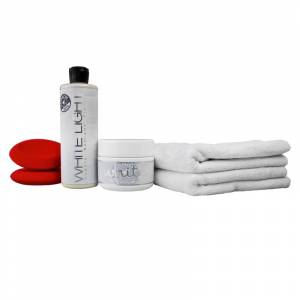Chemical Guys White & Light Color Paint Maintenance Kit   Car Detailing   Vehicle Cleaning Kit   Chemical Guys