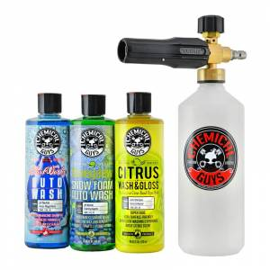 TORQ Professional Foam Cannon Snow Foamer, 3 Car Wash Soaps   Car Detailing   Chemical Guys