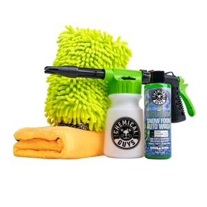Chemical Guys Snowfoam Wash & Dry Kit    Remove Grime, Buildup   Car Detailing   Chemical Guys