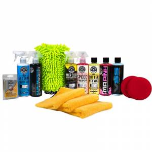 Chemical Guys Complete Car Care Gift Kit    Remove Grime, Buildup   Car Detailing   Chemical Guys
