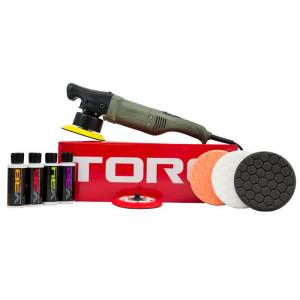 TORQ 10FX Random Orbital Car Polisher Kit (10 Items)   Car Detailing   Chemical Guys
