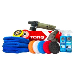 TORQx Complete Detailing Kit (13 Items)   Car Detailing   Exterior Car Wash Starter Kit   Chemical Guys