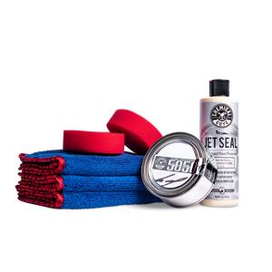 Chemical Guys Car Shine & Protection Kit, Jetseal Paint Sealant & 5050 Paste Car Wax   Chemical Guys
