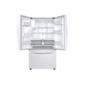 Samsung 28 cu. ft. 3-Door French Door, Full Depth Refrigerator with CoolSelect Pantry in White(RF28R6202WW/AA)
