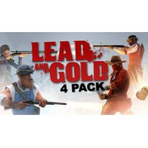 Fatshark Lead and Gold: Gangs of the Wild West - 4 Pack