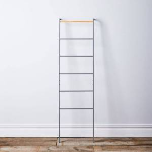 Manifest - Food52 Grey Steel & Wood Leaning Ladder