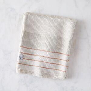 MINNA Cozy Cotton Baby Blanket - Peach Stripe