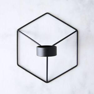 Menu Modern Polygon Wall Sconce - Black