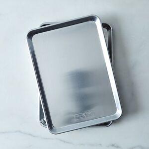Nordic Ware Natural Aluminum Baking Sheets - Jelly Roll Pans (Set of 2)