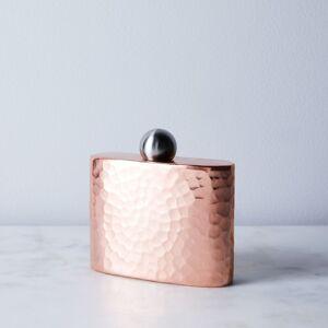 Sertodo Copper Hand Hammered Copper Flasks - Hip