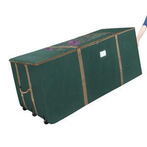 Elf Stor XLarge Christmas Tree Storage Wheeled Box w Window Fits 12 Ft Tree Heavy Duty
