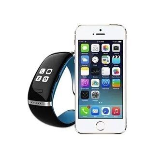 Origin Shops Smart Communicator Unisex Bluetooth Watch For Apple & Samsung Smart Phones - Blue