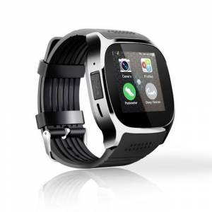 Vista Shops Bluetooth Smart Wrist Watch Phone Mate GSM SIM For Android iPhone IOS Samsung - BLACK