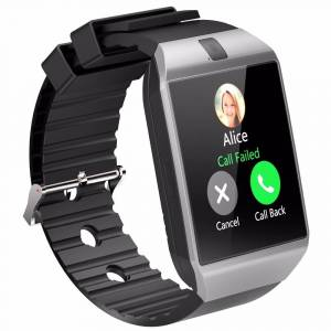 Cawono Bluetooth SmartWatch With Camera & Fitness Tracker, Multiple Colors