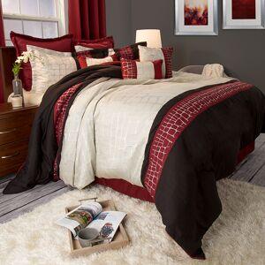 Destination Home Lavish Home Ashley 9 Piece Comforter Set - Queen - Burgundy