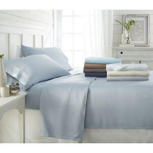Home Collection 4 Piece Bamboo Bed Sheet Set - California King, Gray