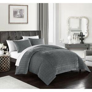 Lux-Bed LLC Chyna 3 Piece Comforter Set Luxurious Velvet Bedding