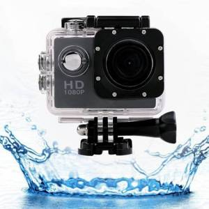 Vista Shops HD 1080P Action Sports Camera with Waterproof Accessory Pack - Pink