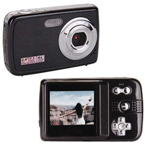 F2 Digital Camera Camcorder 4 x Digital Zoom - Black