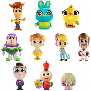 Mattel Disney Pixar Toy Story 4 Minis 10-Pack Ultimate New Friends Mattel