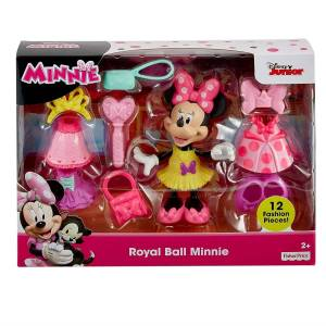 Fisher-Price Disney Junior Royal Ball Minnie Figure Play Set Fisher-Price