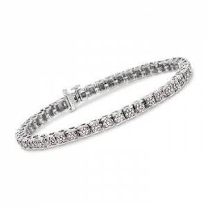 Ross-Simons 1.00 ct. t.w. Diamond Bracelet in Sterling Silver