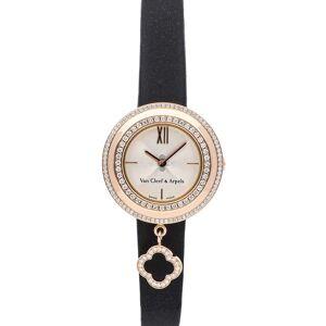 Van Cleef and Arpels Van Cleef & Arpels MOP Diamonds 18K Rose Gold Charms Watch VCARO29800 Women's Wristwatch 25 MM