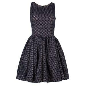 Alaia Azzedine Alaia Monochrome Flare Dress M