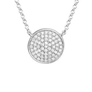 Diamond Select Cuts 14K 0.18 ct. tw. Diamond Necklace   - Size: NoSize