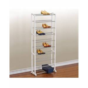 Lynk 30-Pair Shoe Rack   - Size: NoSize