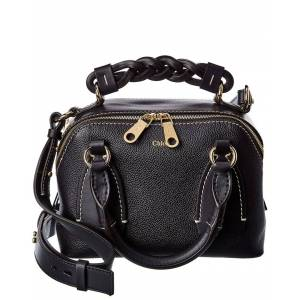 Chloe Daria Small Leather Shoulder Bag   - Size: NoSize