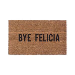 """CoCo Mats N More Bye Felicia Indoor/Outdoor Doormat   - Size: 18"""" x 30"""""""