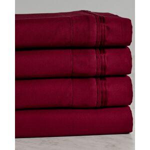 Superior 650TC 100% Egyptian Cotton Solid Sheet   - Size: Split King Sheet Set