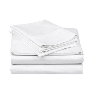 Superior 200TC Deep Pocket Sheet Set  -White - Size: King