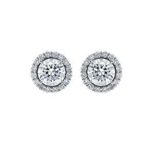Diana M. Fine Jewelry 18K 2.22 ct. tw. Diamond Studs   - Size: NoSize